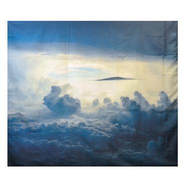 Šátek - přehoz V mracích  - 1