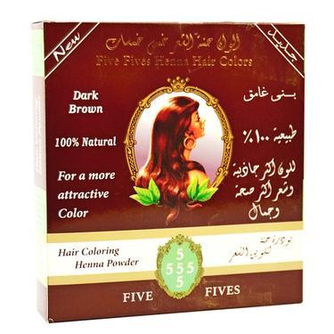 Henna přírodní na vlasy 100 g - tmavě hnědá