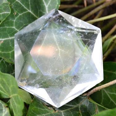 Hexahedron z horského křišťálu 30 mm  - 1