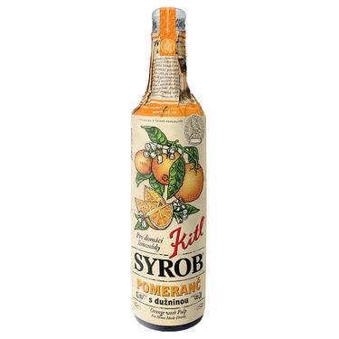 Kitl Syrob pomerančový 500 ml