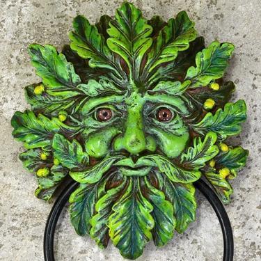 Fantasy klepadlo - Zelený muž  - 1