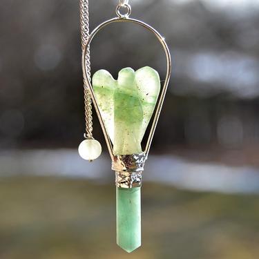Andělské kyvadlo - Aventurín zelený