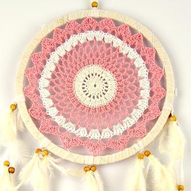 Lapač snů - Růžová mandala  - 1