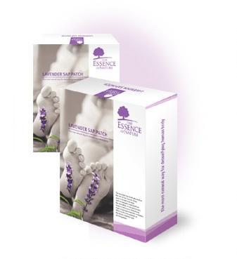 Detoxikační náplasti 14 ks - levandule