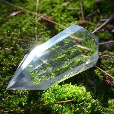 Broušená krystalová hůlka - Křišťál extra 54 g  - 1
