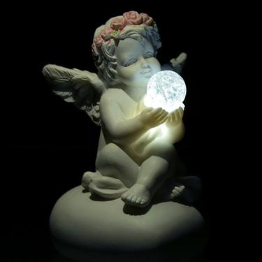 Andílek křišťálového světla, LED lampička  - 1