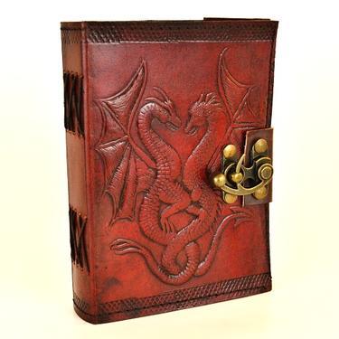 Magický deník fantasy - Dva draci, pravá kůže  - 1