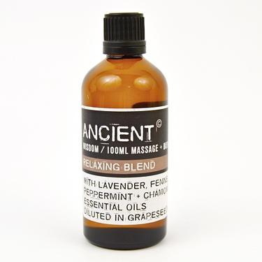 Masážní olej - kompozice Relax Blend, 100 ml