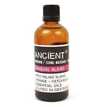 Masážní olej - kompozice Sensual, 100 ml