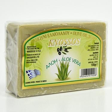 Knossos přírodní olivové mýdlo Aloe Vera 100 g