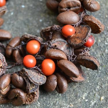 Náramek Yaritza - kávová zrna Ekvádor 04  - 1