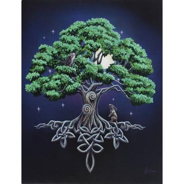 Obraz fantasy - Strom tajemství