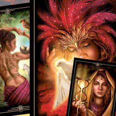 Orákulum vizí - vykládací karty  - 1