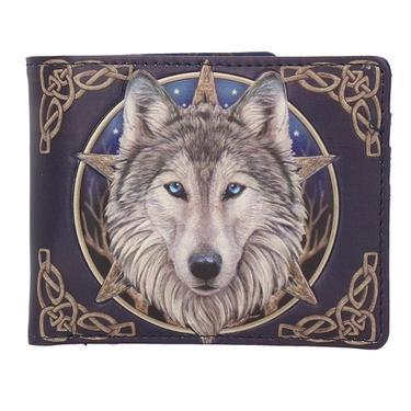 Peněženka fantasy kapesní - Vlk  - 1