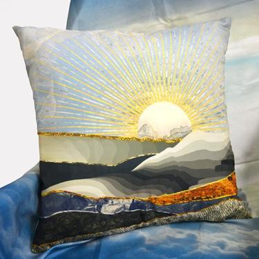 Polštář - V Zemi vycházejícího Slunce 40x40 cm