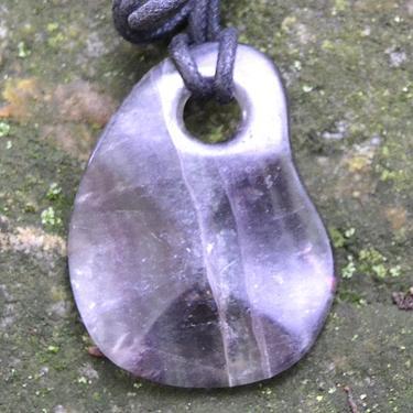 Přívěsek Fluorit MEGA nepravidelný tvar  - 1