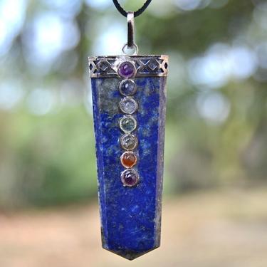 Přívěsek Lapis Lazuli čakrový  - 1