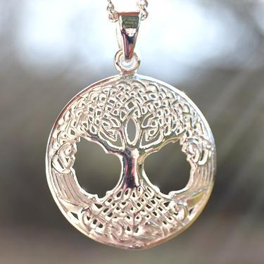 Přívěsek - Keltský strom Života, stříbro Ag 925