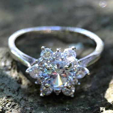 Prsten Vločka sněhu - velikost 56  - 1