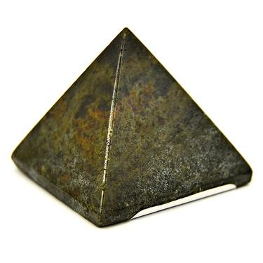 Pyramida - Jaspis zelený - hadí kůže 35 mm