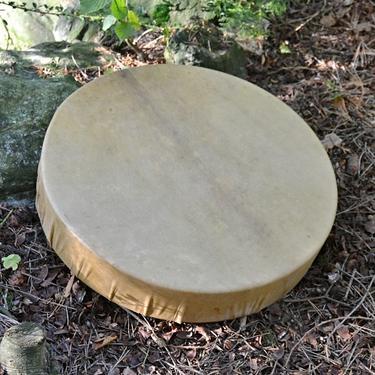 Šamanský buben z jelenice 42 cm  - 1