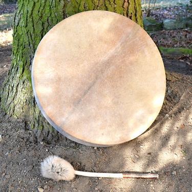Šamanský buben bez zdobení 40 cm  - 1