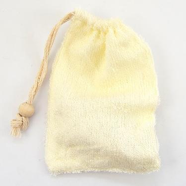 Síťka na mýdlo - masážní žínka, Bambus