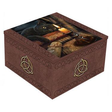 Šperkovnice exclusive fantasy - Černý kocour  - 1