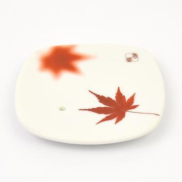 Stojánek na japonské vonné tyčinky - Javorový list  - 1