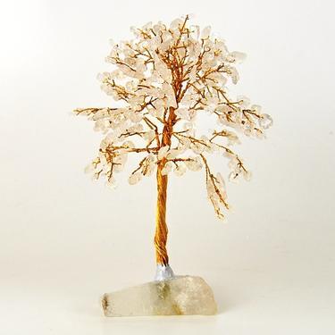Stromeček štěstí - křišťál, 160 kamínků  - 1