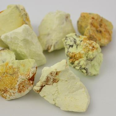 Chryzopras citrónový surový Brazílie XL  - 1