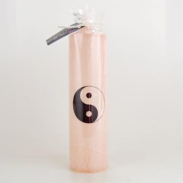 Svíčka Jin Jang natural