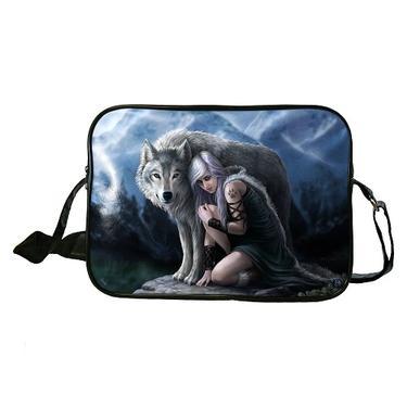 Taška velká fantasy - Vlk ochránce