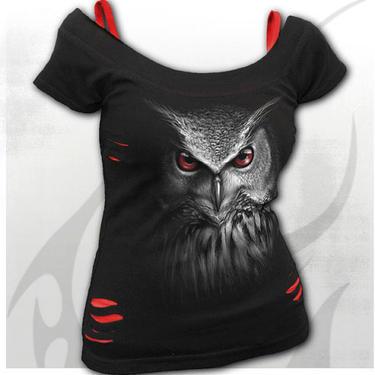 Dámské tričko Noční lovec - 2 v 1 S