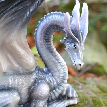 Socha fantasy exclusive - Velký horský drak  - 1