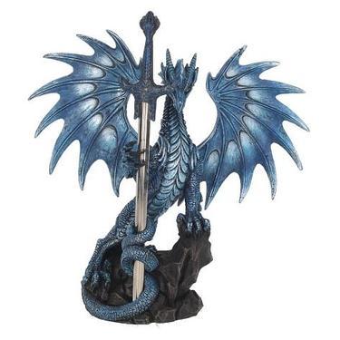 Socha fantasy exclusive - Velký mořský drak  - 1