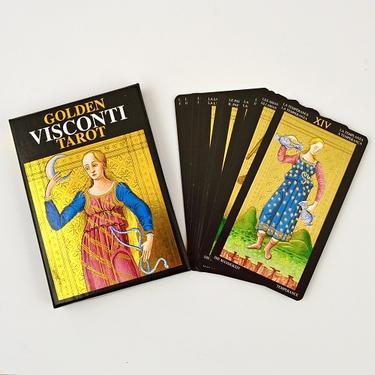 Zlatý Visconti tarot - Velká Arkána  - 1