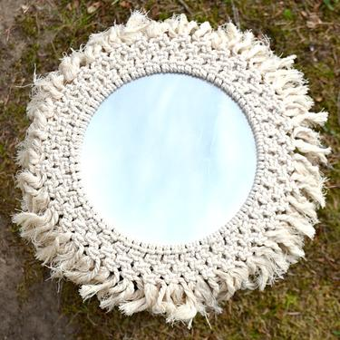 Šamanské zrcadlo IINII Atakuwa 35 cm  - 1