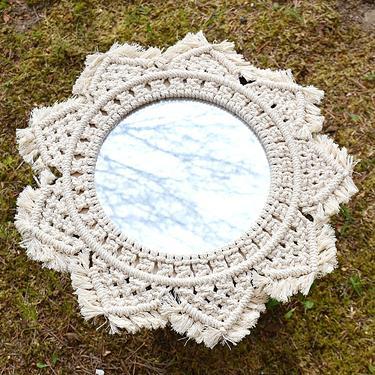 Šamanské zrcadlo IINII Kwamba 35 cm  - 1