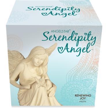 Andělská soška - andílek s motýlem  - 2