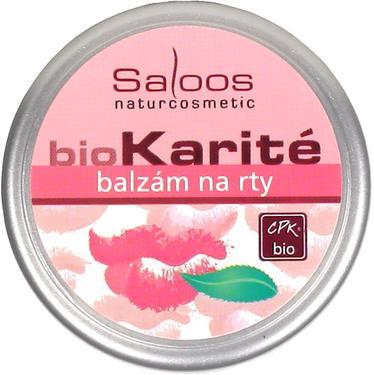 Saloos BIO Karité balzám na rty 19 ml  - 2