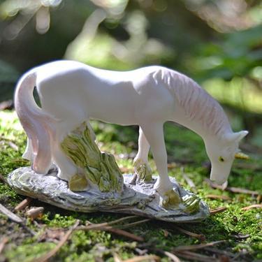 Fantasy figurka - Bílý jednorožec  - 2