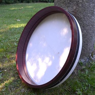 Rámový laditelný buben Daf, kozí kůže 52 cm  - 2