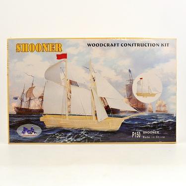 Škuner - 3D dřevěné puzzle  - 2