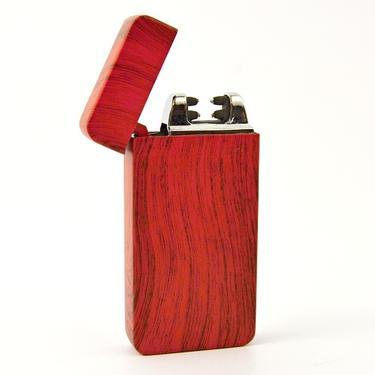 Elektrický zapalovač MATRIX USB - červený  - 2