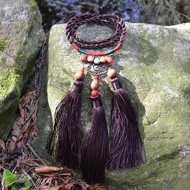 Šamanský náhrdelník IINII - Langi  - 2