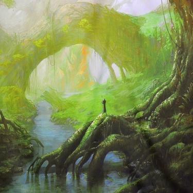 Šátek - přehoz Čaroděj Země  - 2