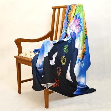 Šátek - přehoz Meditation Chakra  - 2
