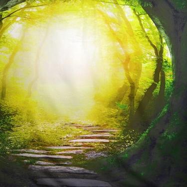Šátek - přehoz Lesní Portál  - 2