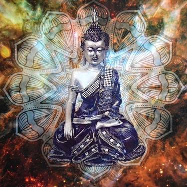 Šátek - přehoz Buddha Mandala  - 2